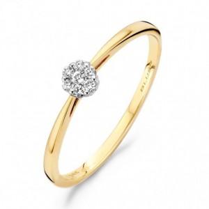 Blush Diamonds Ring - 1609BDI maat 54