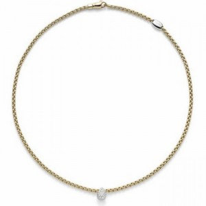 Fope 735C PAVE collier